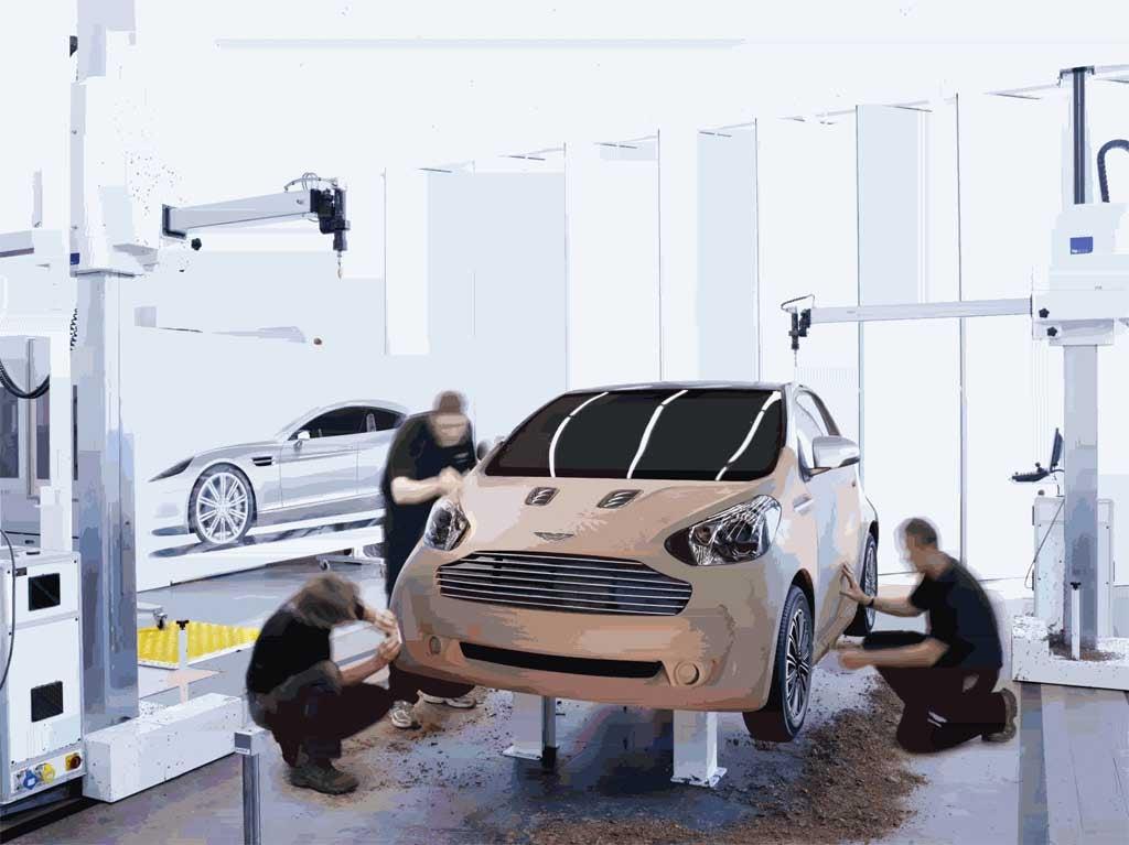 First Look: Aston Martin Cygnet