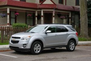 The 2010 Chevrolet Equinox: finally, a credible crossover from General Motors.