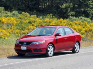 The 2010 Kia Forte replaces the back-of-the-pack Spectra sedan.