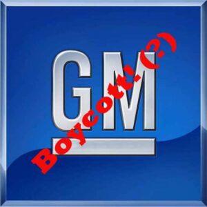 GM Boycott?