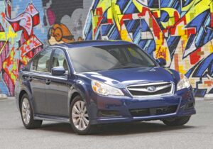 With Subaru's all-new, 2010 Legacy sedan, the company aims to step up its presence in the mainstream midsize market.