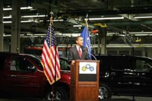 """My administration feels we need to switch from 18 to 19-inch wheels...""  Will the White House really sit on the sidelines, as promised, or exercise a day-to-day role in managing the ""new"" GM?"