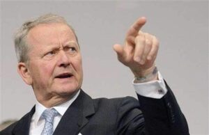 "Stick it Ferdi...Wolfgang Porsche decries a merger bid he decries as ""blackmail,"" from cousin and VW Chairman Ferdinand Piech."