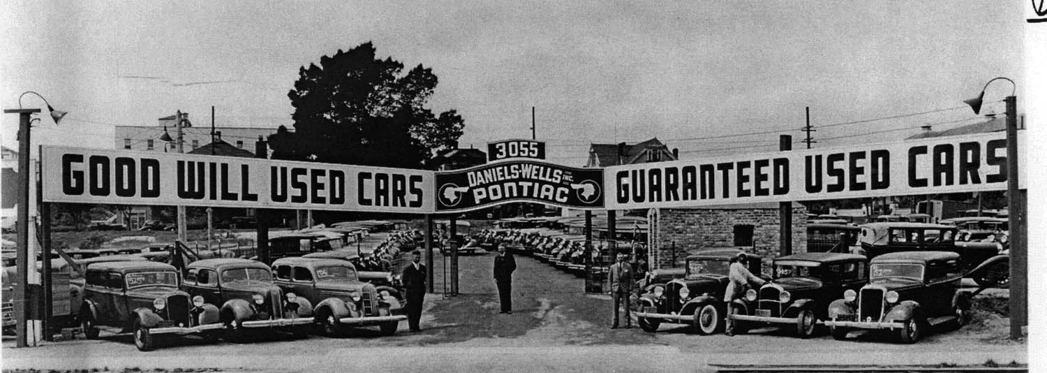 Old Car Dealers >> Used Car Sales As Harbinger Of The Market Thedetroitbureau Com