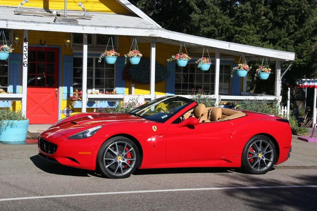 First Drive: 2009 Ferrari California