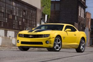 Chevrolet brings the Bumblebee Camaro, from the movie Transformers, to life - as a $995 option package.