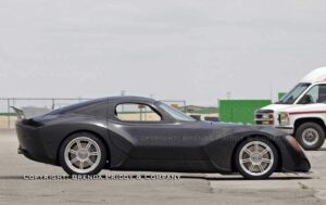This is the first true spy shot of the Devon GTX, the planned American supercar.