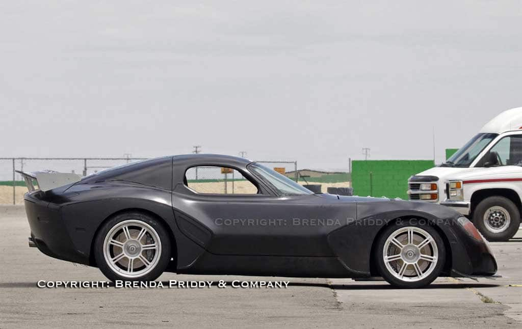 Spy Shots: Devon GTX Prototype on the Track!