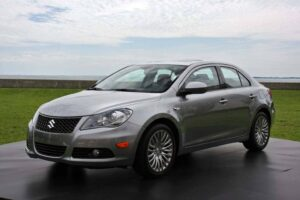 There's a lot riding on the new midsize 2010 Suzuki Kizashi.