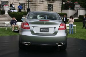 Sportier than the typical Japanese midsize sedan, the 2010 Suzuki Kizashi is targeting Euro offerings, like the new VW Passat, as well as more upscale near-luxury sedans.