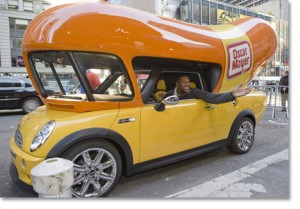 Mini Wienermobile