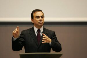 Nissan's Carlos Ghosn