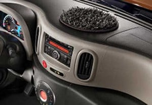 Is that a shag rug - or a chia pet - growing out of the instrument panel?