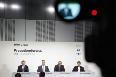 BMW Group Withdraws from Formula One Racing