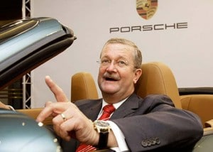 Porsche workers will take home bonuses worth more than $1,500 each, but ousted CEO Wendelin Wiedeking's golden parachute is more like $70 million.
