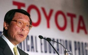 Though it could soon outsell GM in the key U.S. market, Toyota has plenty of challenges ahead, according to its top U.S. executive, Yoshimi Inaba.