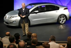 Fritz Henderson and Chevrolet Volt