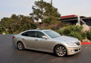 Though the final name hasn't been locked down, this 2011 Hyundai Equus prototype will take aim against the likes of the Mercedes-Benz S-Class and Lexus LS.