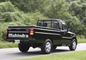 Indian automaker Mahinda plans to begin marketing two models in the U.S., including the Pik-Up.