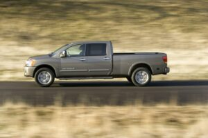 The Titan has never come close to hurting domestic pickup trucks.