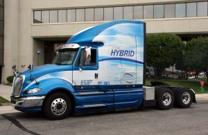 ArvinMeritor's diesel-hybrid truck could reduce fuel consumption by 15% - saving the typical trucker over 3,000 gallons of diesel annually.