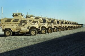 MRAPs, Courtesy of the Army Times