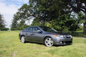 The 2010 Acura TSX V-6 fills a gap between the base sedan and the TL, which recently moved upscale.