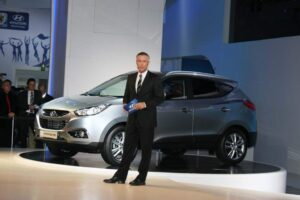 Hyundai will introduce the new ix35 crossover in Europe, and sell it in the States as the 2010 Hyundai Tucson.