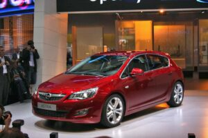 A new car for an almost-new company, the 2010 Opel Astra.