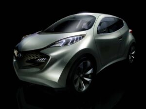 The 2010 Hyundai ix-Metro Hybrid concept targets the growing European sub-B segment.