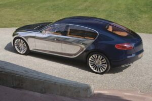Missing in action at the 2009 Frankfurt Motor Show, nonetheless, there's plenty of talk about the Bugatti 16C Galibier, which could be the French maker's next supercar.