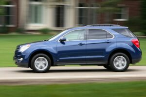 The old ones are gone and the 2010 Equinox is a strong seller.