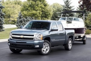 The 2010 Chevrolet Silverado and GMC Sierra have best-in-class fuel economy at 15 miles per gallon in the city.