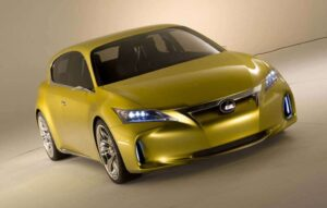 The design of the 2010 LF-Ch concept is unusually strong, but what's unclear is what type of hybrid powertrain the automaker has hidden under the hatchback's hood.