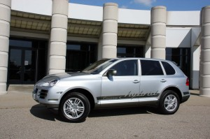 The 2011 Porsche Cayenne S Hybrid is expected to deliver about 28% better mileage than the standard Cayenne V-6, but will match the performance of the SUV with a big V-8.
