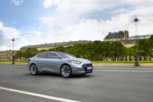 First of the production EVs is the current Renault Fluence.