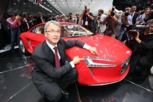 Former Audi CEO Rupert Stadler