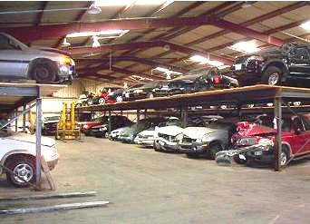 The Tracy Firm Vehicle Storage Facility