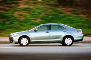 Silver, like the shade shown on this 2010 Toyota Camry, remains the most popular car color for the ninth year running.