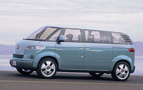 Volkswagen Tied With The Idea Of Recreating Original Microbus A Version Based On This
