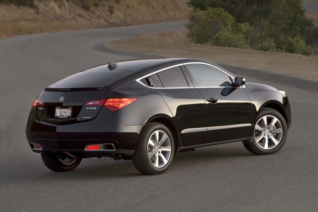 First Look Production Ready 2010 Acura Zdx