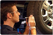Tire pressure drops as the temperaure declines.