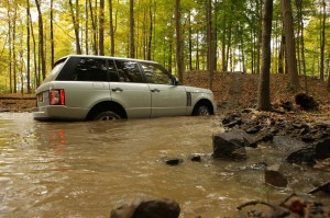 A surprising number of Range Rover owners claim they go off-road, where they can ford up to 24 inches of water.