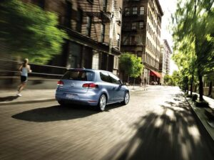 The 2010 Volkswagen GTI is the sportiest member of the sixth-generation VW Golf family.