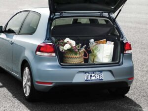 Americans may not be used to the hatchback style, but the roomy rear of the 2010 Volkswagen Golf demands a closer look.