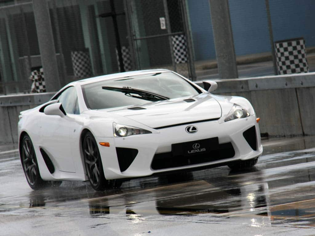Better Hurry Lexus Lfa Supercar Sold Out Almost