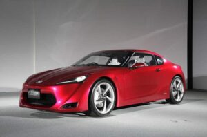 Versions of the FT-86 will show up in both Toyota and Subaru showrooms, though in the U.S., it might be badged Scion.