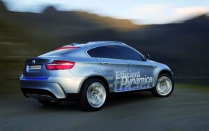The 2010 BMW ActiveHybrid X6 will reach U.S. dealer showrooms in December.