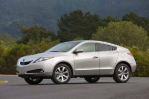 Is it a sports coupe, a crossover, a wagon...or...?  The Acura 2010 ZDX.