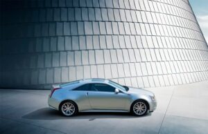 The 2011 Cadillac CTS Coupe shares only a few key pieces with the Caddy sedan, notably front fenders, grille and headlamps.